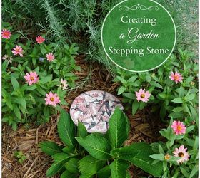 Creating A Garden Stepping Stone, Concrete Masonry, Crafts, Gardening, How  To