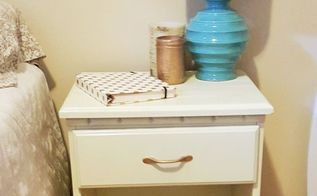 easy diy nightstand makeover, painted furniture