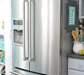 Charmant How Do I Clean A Stainless Steel Refrigerator?   Hometalk