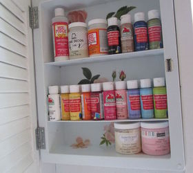 Discarded Medicine Cabinet Turned Craft Storage, Craft Rooms, Organizing,  Repurposing Upcycling, ...