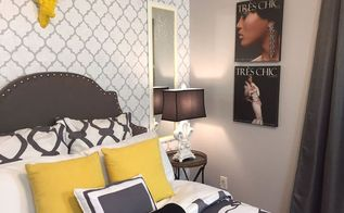 teenage girl s dreamy bedroom makeover, bedroom ideas, home decor, Fashion Art