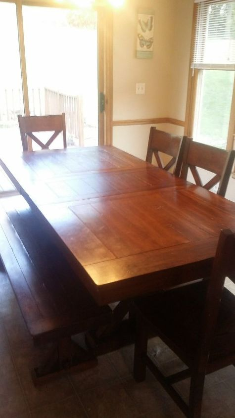 Help! How Do I Fill In The Groves On This Table?   Hometalk
