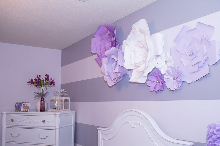 DIY Large Paper Flowers (Wall Decor and Above Bed) | Hometalk