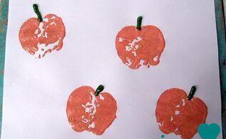 diy pumpkin stamps, crafts, seasonal holiday decor