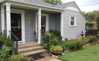 from plain box to cherished home, curb appeal, gardening