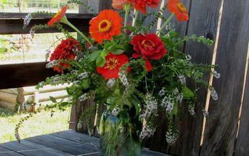 DIY Fall Vase Arrangement