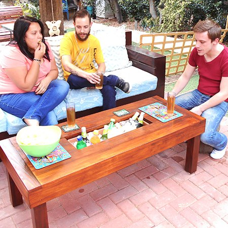 Best Outdoor Table With Ice Cooler Box   Hometalk AV62