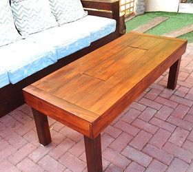 Genial Outdoor Table With Ice Cooler Box, Diy, How To, Outdoor Furniture, Rustic