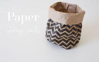 Paper Storage Sacks...