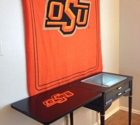 Repurposed Sewing Cabinet Into Cooler for the Ultimate Football ...