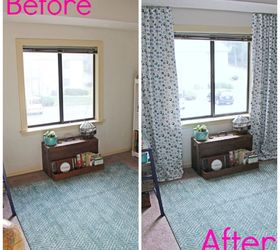 My Newly Minted Curtains, Home Decor, Living Room Ideas, Reupholster,  Window Treatments Part 58