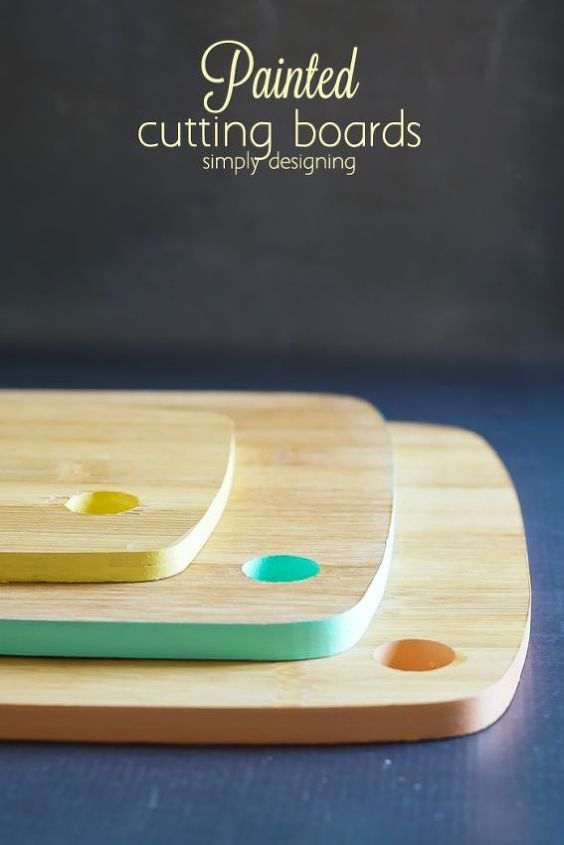 painted cutting boards, crafts