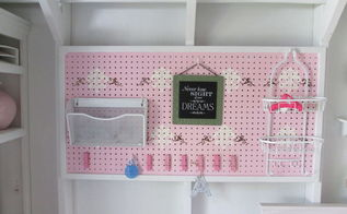 how you can customize your own peg board, craft rooms, crafts, organizing, shabby chic