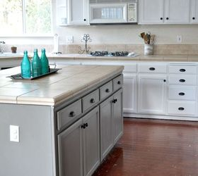 DIY Painted Kitchen Cabinet Update REVEAL | Hometalk