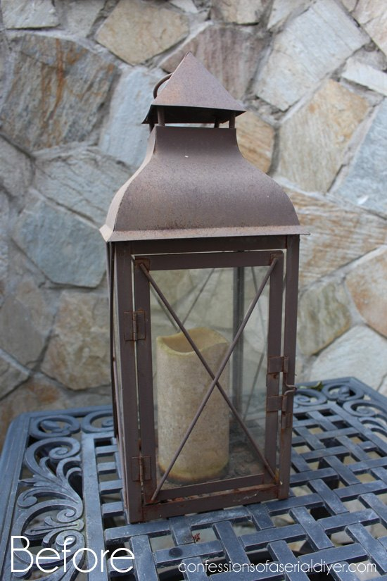 fall lantern centerpiece, crafts, repurposing upcycling, seasonal holiday decor
