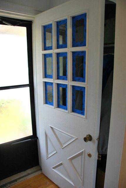 turquoise front doorA DIY Turquoise Front Door  Hometalk