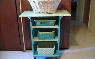 upcycled utility cart, painted furniture, repurposing upcycling
