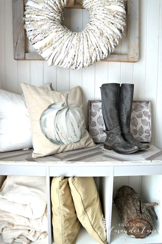 pottery barn pumpkin pillow knock off, crafts, diy, painting