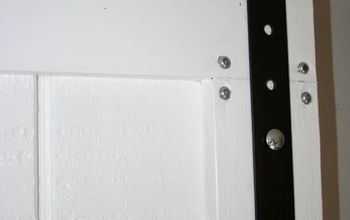 DIY Barn Door Hardware for $30!
