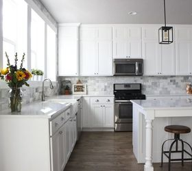 DIY Marble Backsplash in the Kitchen Hometalk