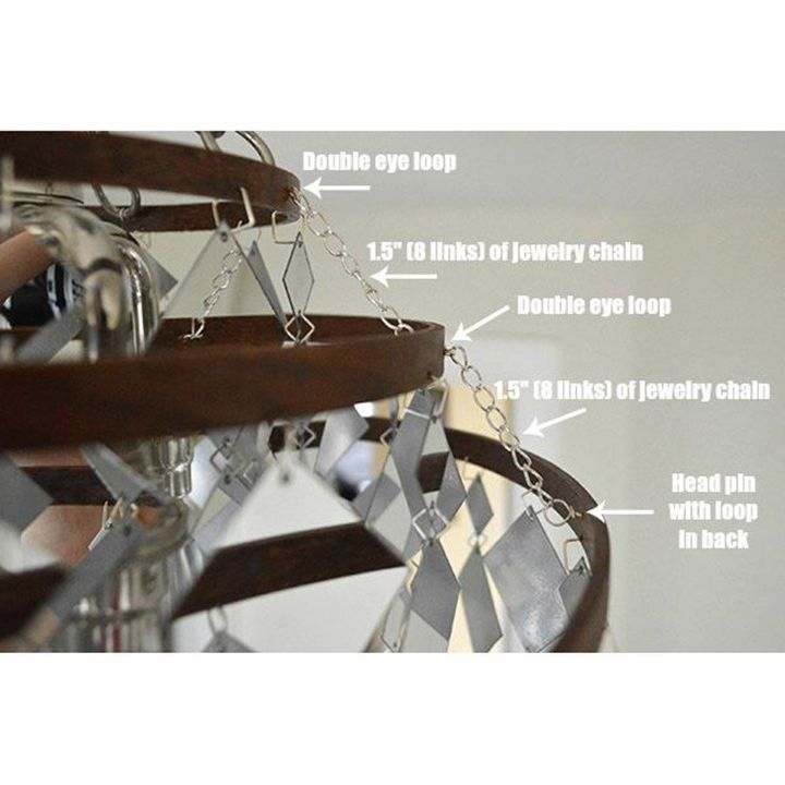 the sunshower chandelier, bedroom ideas, diy, how to, lighting