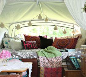 Superior Boho Inspired Pop Up Camper Re Do, Home Decor, Outdoor Living