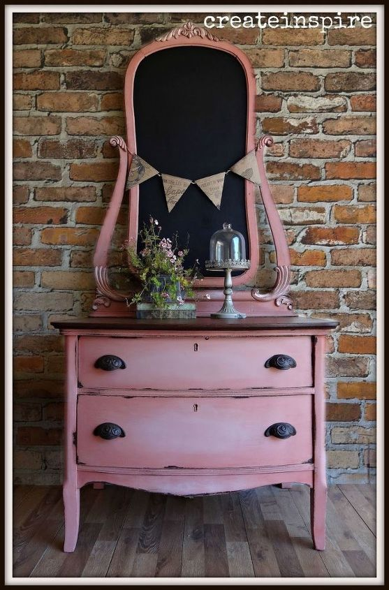 antique chest in scandinavian pink, painted furniture, repurposing upcycling - Antique Chest In Scandinavian Pink Hometalk
