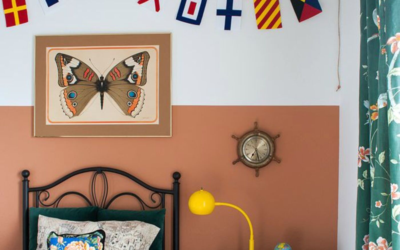 s 11 designer decor looks you can make on the cheap, crafts, home decor, Nautical Flag Banner Land of Nod