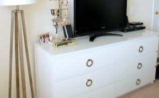 ikea malm dresser hack, painted furniture