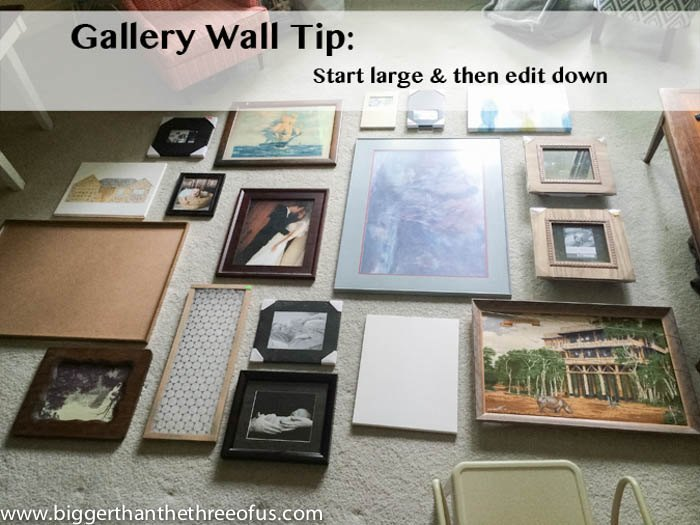 how to create a beautiful gallery wall, home decor, how to, living room ideas, wall decor