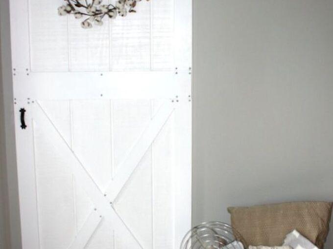 make a custom barn door for under 50, diy, doors, home improvement, how to