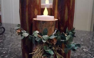 easy centerpiece from nature, seasonal holiday decor