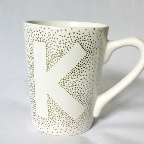 Coffee Cup Marker Diy Sharpie Mug