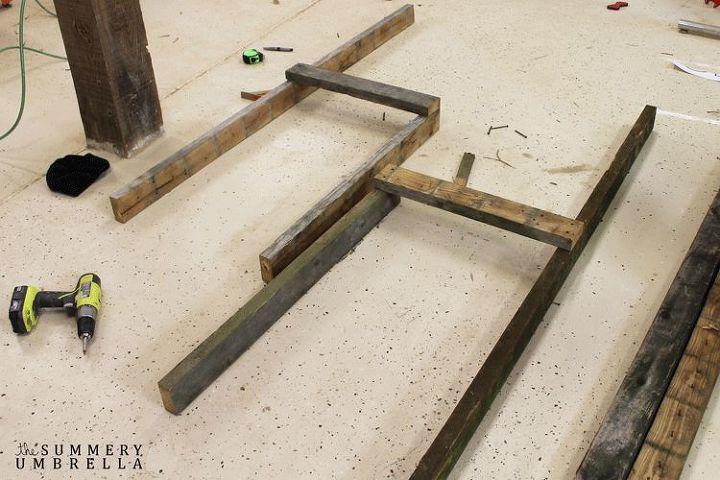 Enjoyable How To Build A Reclaimed Wood Potting Bench Hometalk Ibusinesslaw Wood Chair Design Ideas Ibusinesslaworg