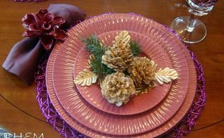 how to bleach your pinecones for an unusual beautiful effect, christmas decorations, crafts, decoupage, seasonal holiday decor