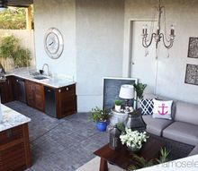 outdoor kitchen reveal, kitchen design, outdoor living