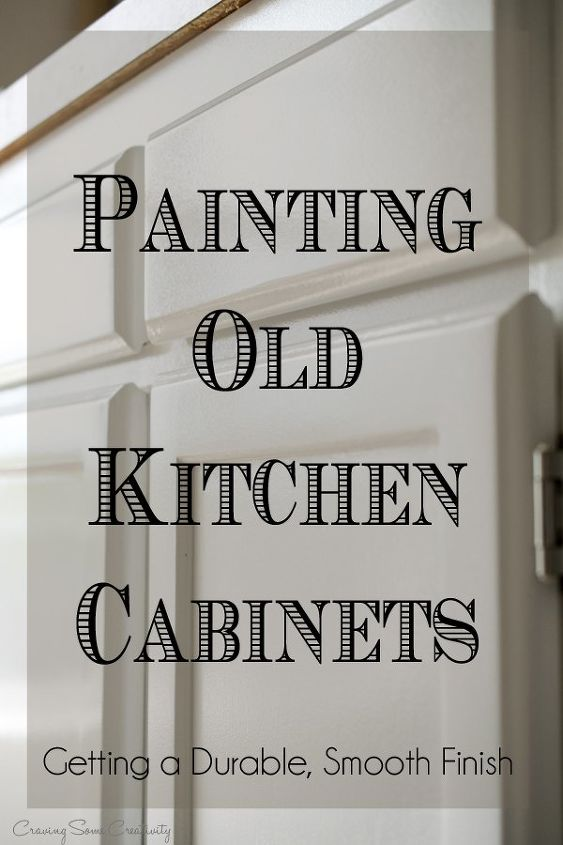Painting Kitchen Cabinets Using Latex Paint And Acrylic