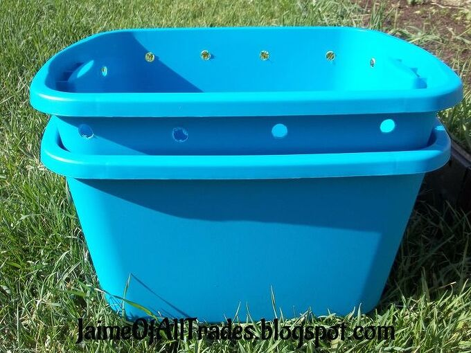 diy worm composting bin, composting, gardening, go green