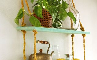 all i need is a drill diy rope shelf, diy, living room ideas, shelving ideas, wall decor