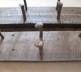 Railroad Spike Wine Rack Diy, Diy, Rustic Furniture, Wall Decor,  Woodworking Projects