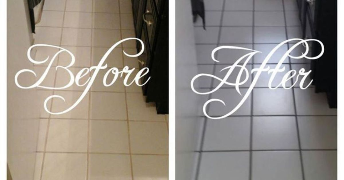 How-To: Recolor Grout, WITHOUT Re-grouting! | Hometalk