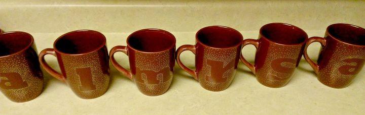 diy sharpie mugs using dollar store mugs, crafts