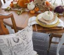 fall table decorating in rich autumn hues, home decor, seasonal holiday decor