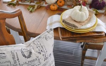 Fall Table Decorating in Rich Autumn Hues