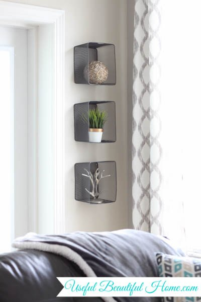 Recycled Wall Decor Using Target Dollar Spot Bins Home Repurposing Upcycling Storage