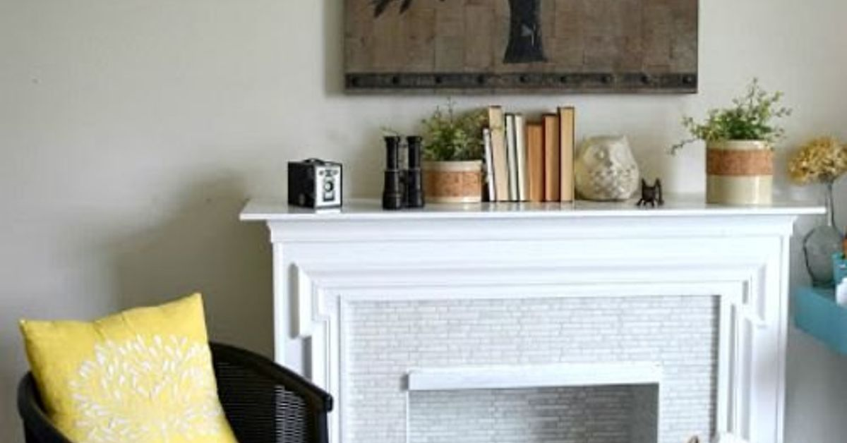 Awesome Redoing A Fireplace Charming Fireplace Download Free Architecture Designs Sospemadebymaigaardcom
