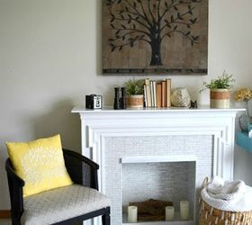 redoing a electric fireplace turning it bright and beautiful diy fireplaces mantels home