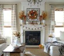 our 2015 fall great room, home decor, living room ideas, seasonal holiday decor