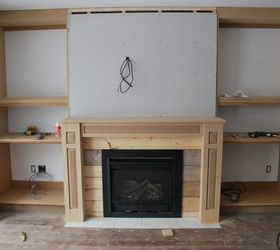 The Living Room A Fireplace Built In, Diy, Fireplaces Mantels, Home  Improvement, Part 93