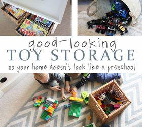 Contemporary Toy Storage Ideas Living Room Design